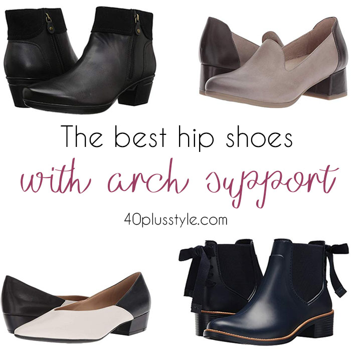 best arch support shoes for women over 40 | 40plusstyle.com