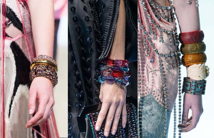 Chunky bracelets - The best accessory trends for Fall 2018 | 40plusstyle.com