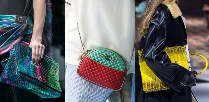 Bright handbags - The best accessory trends for Fall 2018 | 40plusstyle.com