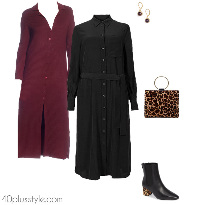 Styling the button front dress | 40plusstyle.com