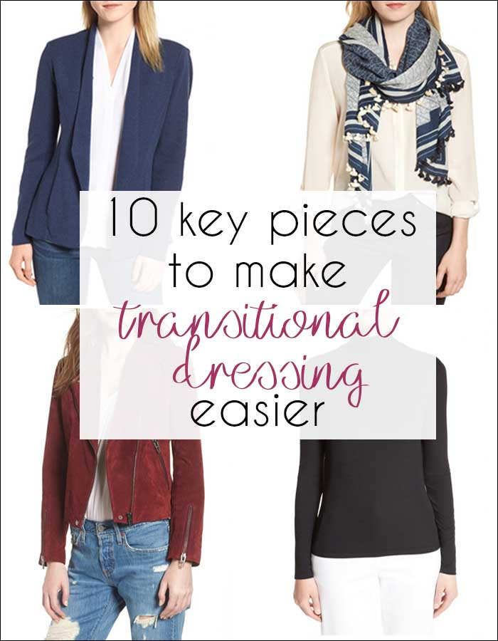 Fall fashion: 10 key pieces to make transitional dressing easy | 40plusstyle.com
