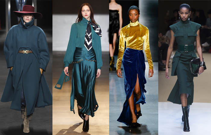 sea green - The color trends you need to know for Fall 2018 | 40plusstyle.com