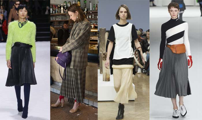 sophisticated pleats - The best Fall 2018 trends for women over 40   40plusstyle.com