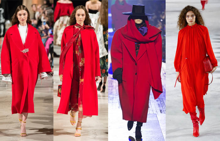 Red - The color trends you need to know for Fall 2018 | 40plusstyle.com
