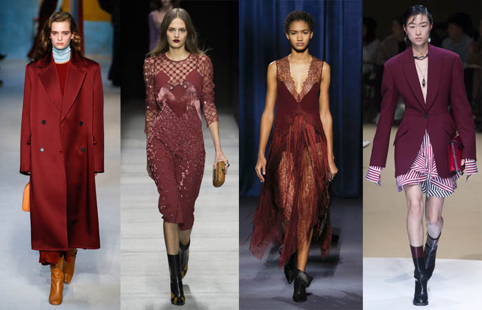 Burgundy - The color trends you need to know for Fall 2018 | 40plusstyle.com