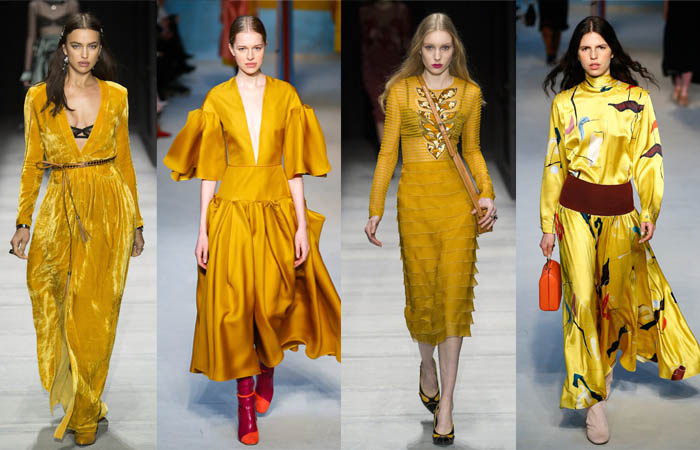 Yellow - The color trends you need to know for Fall 2018 | 40plusstyle.com