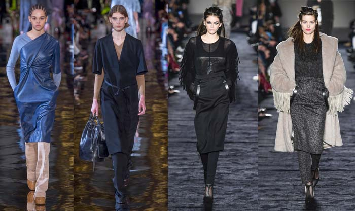 Skirts over pants - The best Fall 2018 trends for women over 40   40plusstyle.com