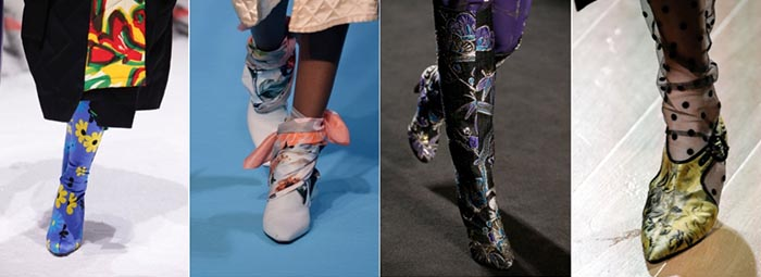 Florals - 12 shoe trends for Fall 2018 | 40plusstyle.com