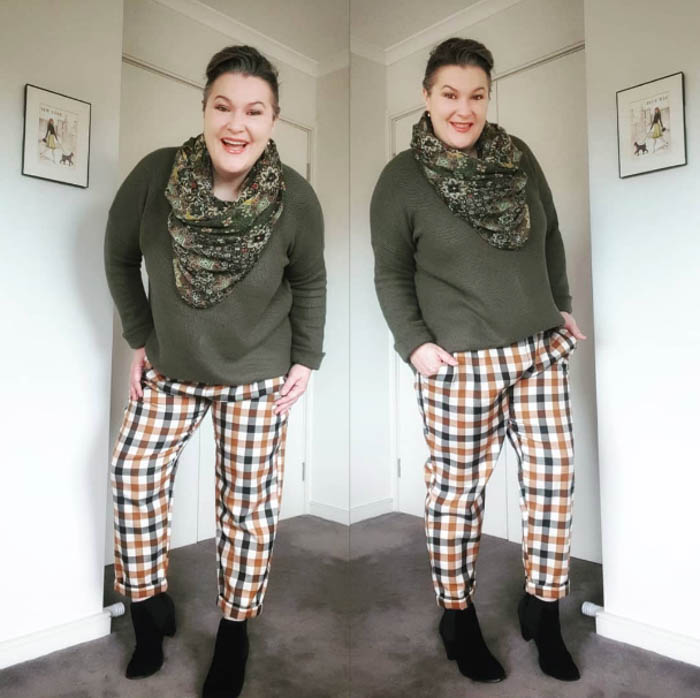 Stylish ways to wear checkers and gingham   40plusstyle.com