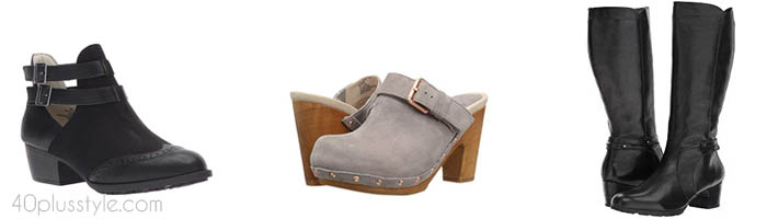 Jambu arch support shoes and boots | 40plusstyle.com