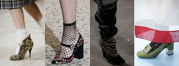 Jewel shoes - 12 shoe trends for Fall 2018   40plusstyle.com