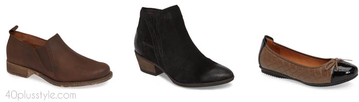 Josef Seibel arch support shoes and boots | 40plusstyle.com
