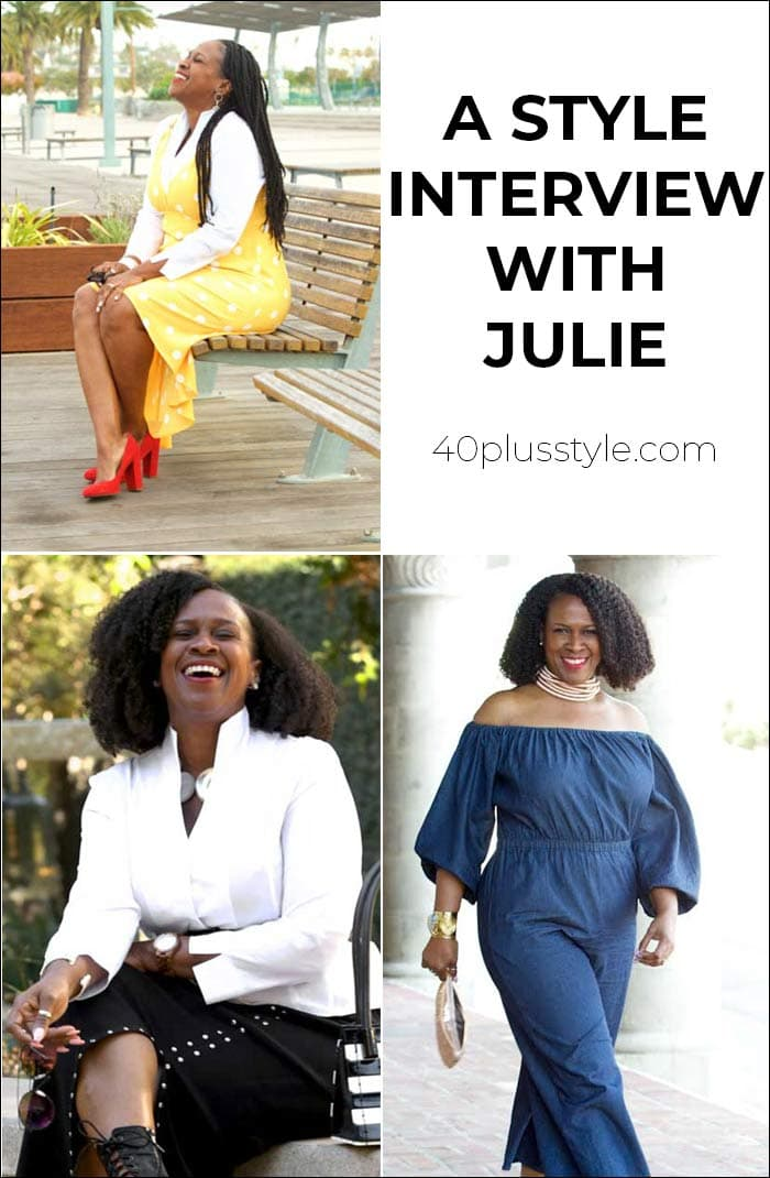 A style interview with Julie | 40plusstyle.com