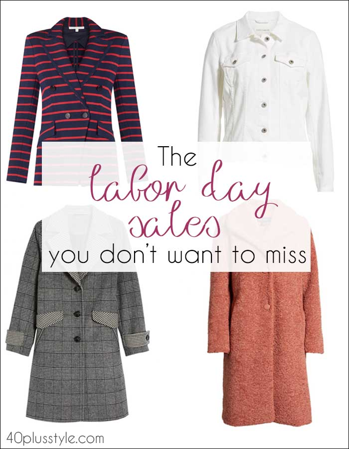 The Labor Day sales you won't want to miss | 40plusstyle.com