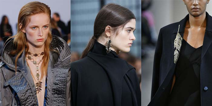 Leaves - The best accessory trends for Fall 2018 | 40plusstyle.com