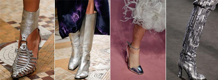 Silver shoes - 12 shoe trends for Fall 2018 | 40plusstyle.com