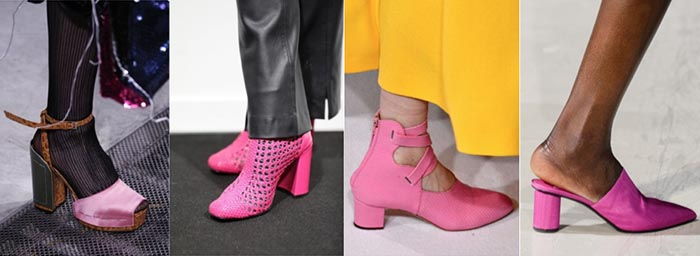 Pink shoes - 12 shoe trends for Fall 2018 | 40plusstyle.com