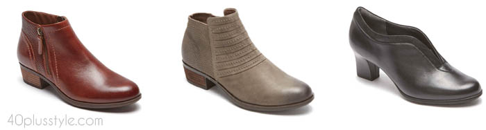 Rockport arch support shoes and boots | 40plusstyle.com