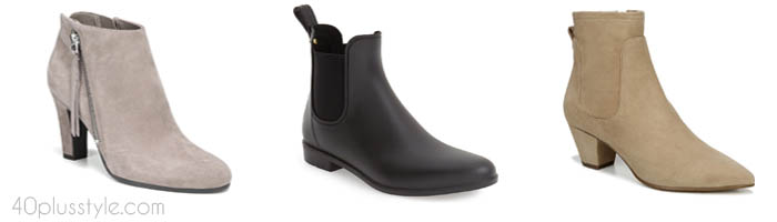 Sam Edelman arch support shoes and boots | 40plusstyle.com