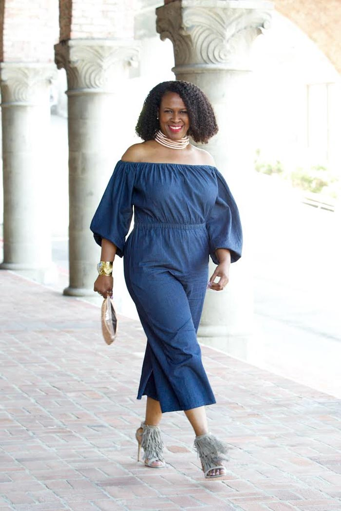 Style interview with women over 40- A style interview with Julie Dionne Harbour | 40plusstyle.com