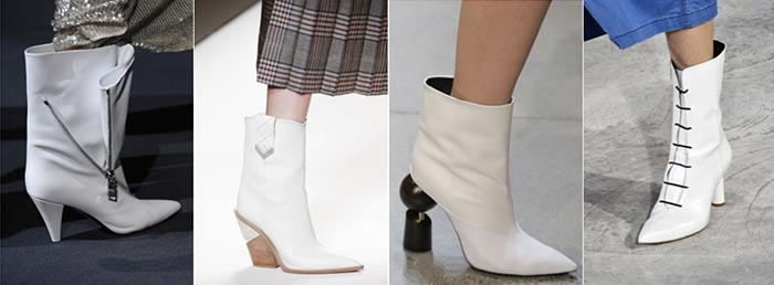 White boots for Fall 2018 | 40plusstyle.com