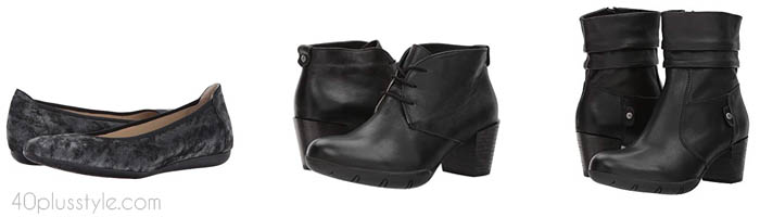 Wolky arch support shoes and boots | 40plusstyle.com