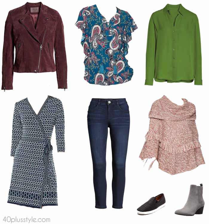 Amazon fashion capsule wardrobe | 40plusstyle.com