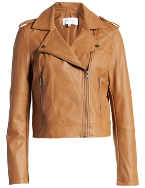 leather moto jacket | 40plusstyle.com