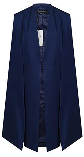 cape style coat | 40plusstyle.com