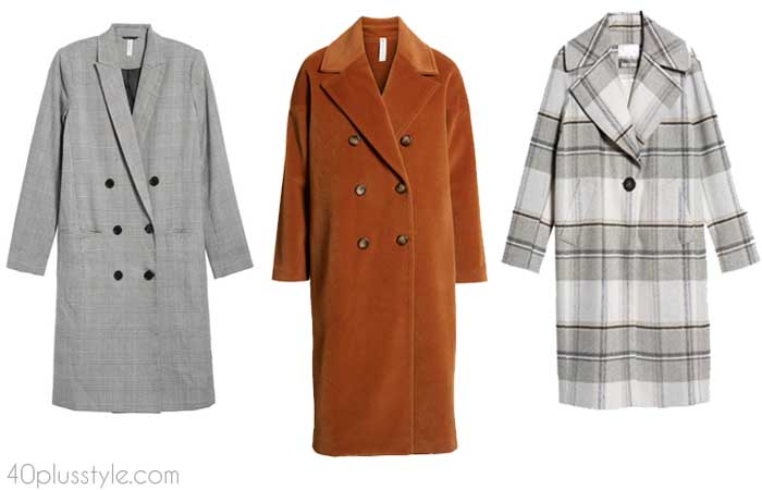 Straight coats for women - How to choose a coat | 40plusstyle.com