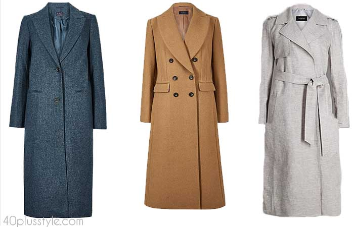 Long coats - How to choose a coat | 40plusstyle.com