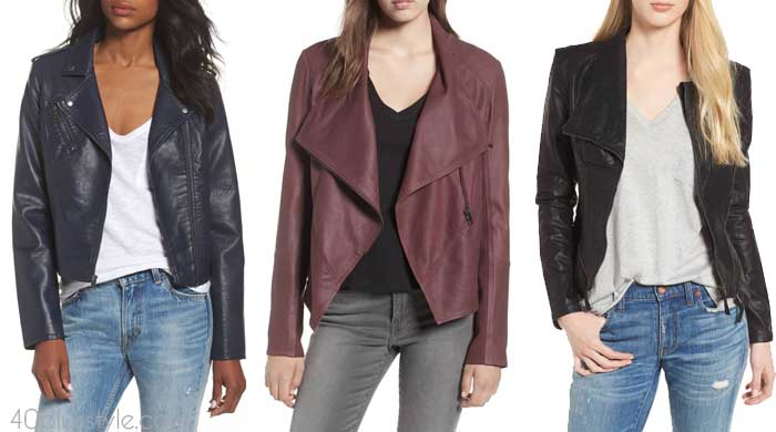 Leather coat - How to choose a coat | 40plusstyle.com