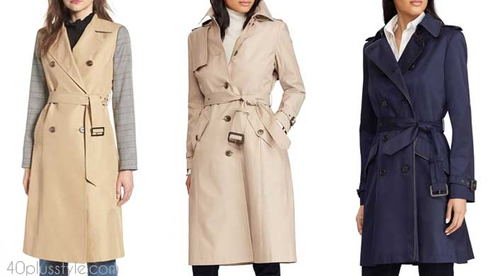 Trench coat - How to choose a coat | 40plusstyle.com