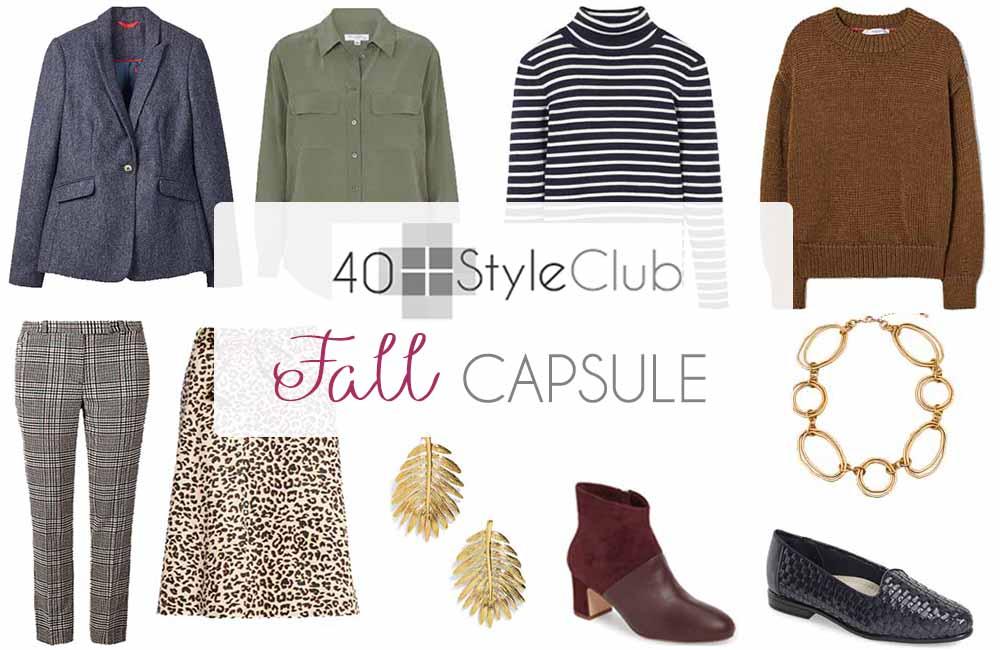 Fall 2018 capsule wardrobe