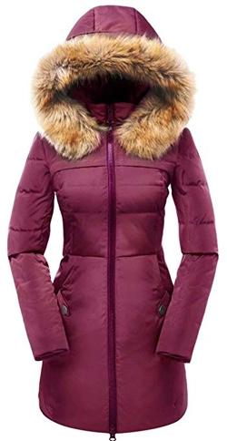 faux fur hood coat | 40plusstyle.com