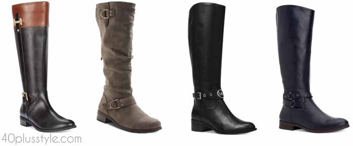 Macys - The best wide calf boots for winter and fall | 40plusstyle.com