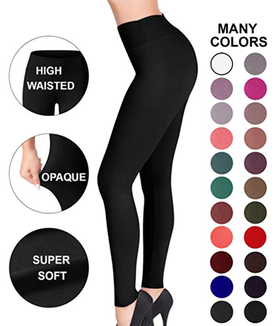 Satina High waisted leggings | 40plusstyle.com