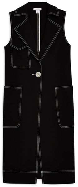 sleeveless coat | 40plusstyle.com