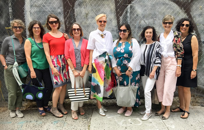 A gatering with members of the 40+style community | 40plusstyle.com