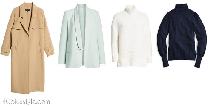Chic sweaters - How to dress like Victoria Beckham | 40plusstyle.com