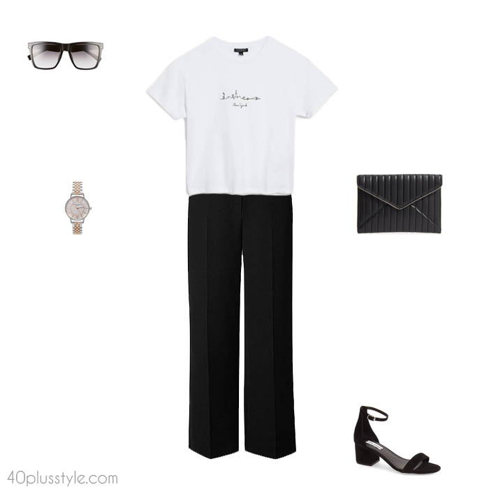 Chic easy looks - How to dress like Victoria Beckham | 40plusstyle.com
