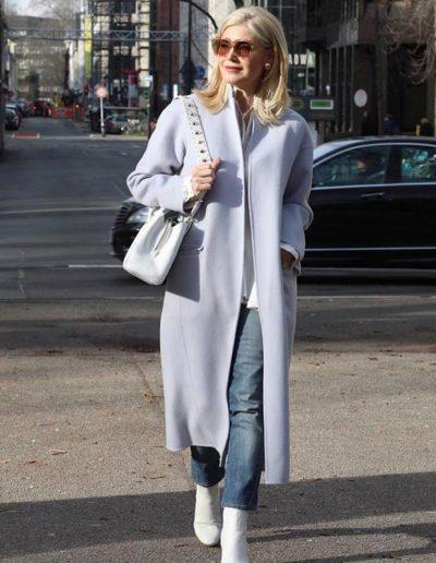 long coat | 40plusstyle.com