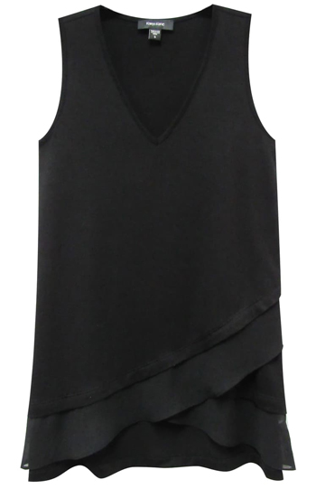 Asymmetrical tops to hide your belly   40plusstyle.com