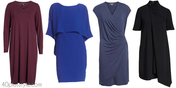 Chic dresses to hide your belly with | 40plusstyle.com