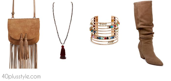 Bohemian accessories - Understanding the different styles   40plusstyle.com