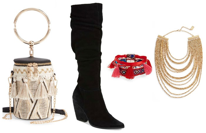 Bohemian style personality accessories | 40plusstyle.com