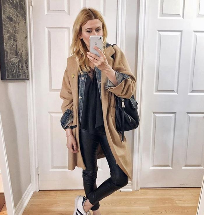 Chic layers - #40plusstyle inspiration: The best casual looks for Fall | 40plusstyle.com