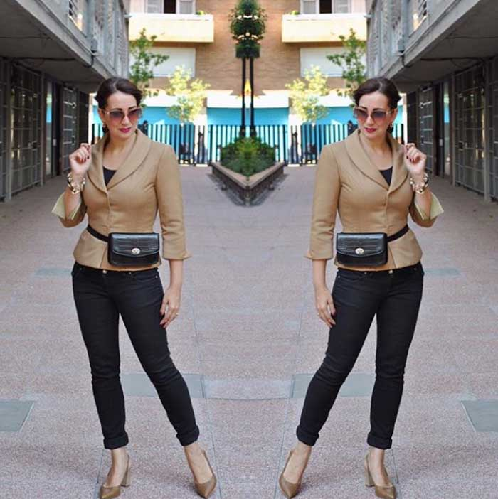 Neutral look - #40plusstyle inspiration: The best casual looks for Fall | 40plusstyle.com