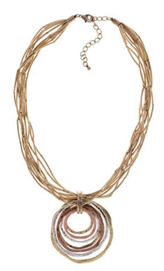 contemporary necklace | 40plusstyle.com