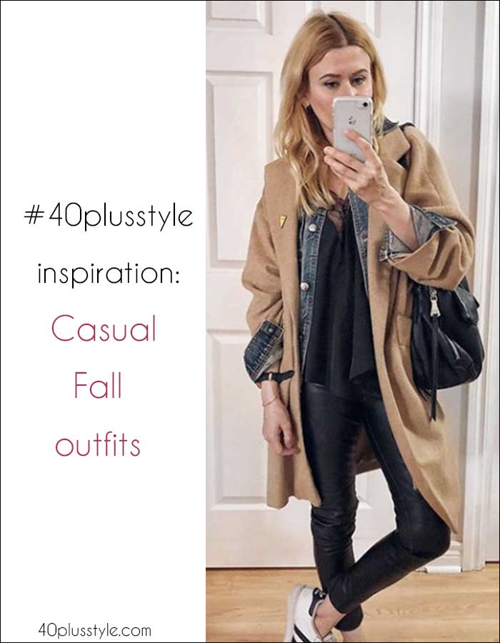 #40plusstyle inspiration: The best casual looks for Fall | 40plusstyle.com